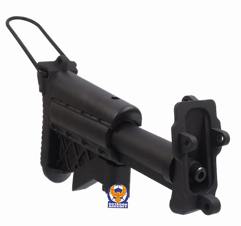 A&K 5 Position Retractable Stock For MK46 M249