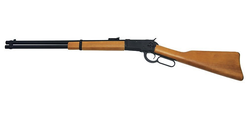 A&K Winchester M1873 Gas Lever Action Real Wood Rifle