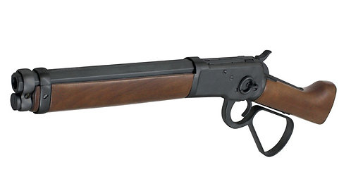 A&K Winchester M1873 Sawed-Off Gas Lever Action Real Wood Randall