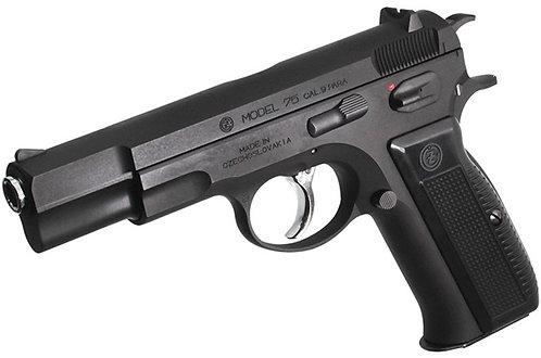 KSC CZ 75 GBB Pistol System 7 Version Black