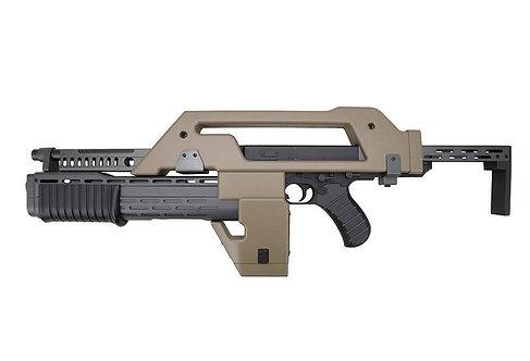 Snow Wolf M41A Pulse Rifle AEG Alien Rifle Tan
