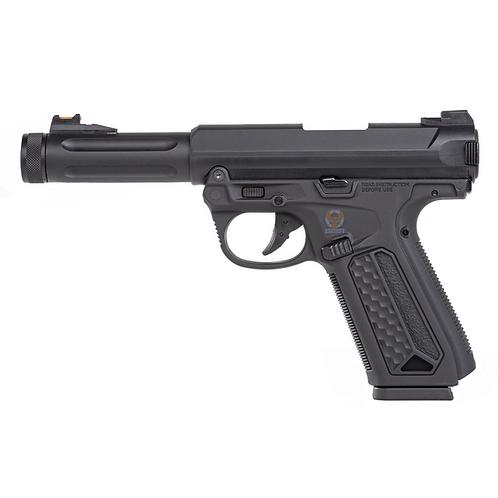 Action Army AAP-01 Semi Auto / Full Auto GBB Pistol BK