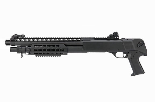 CYMA CM368 M870 Spring Powered Shotgun Tactical Saw Off Black