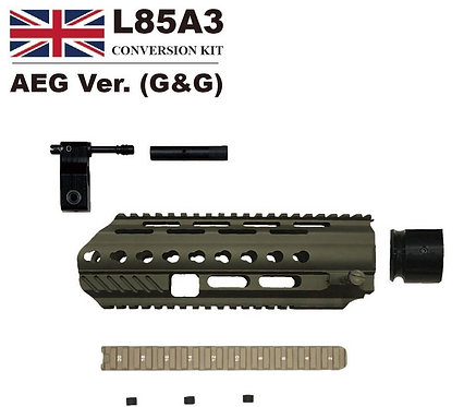 Angry Gun L85A3 Conversion Kit For G&G (Modification For Army) L85 Series