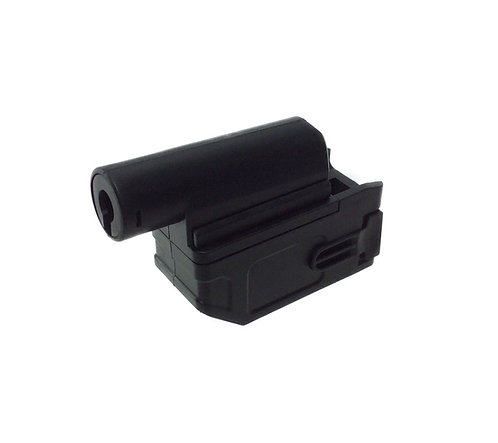 Flintlock Custom Workshop M870 Tran M4 Magazine Adapter Black
