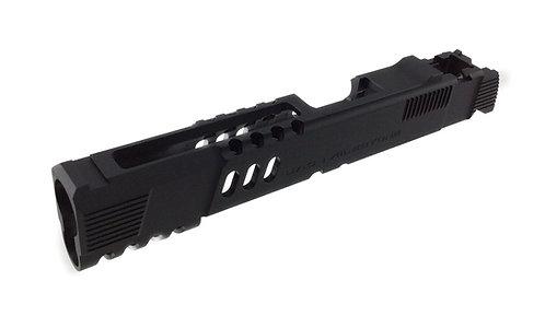 UAC 6065 Aluminium Slide For Marui / Marui Cloned Hi Capa Black