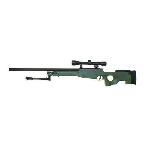 Well MB01 L96 Sniper Rifle w/ Scope & Bipod ( OD )