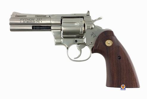 "FLW x King Arms 4"" Python 357 City Hunter Style Marking Gas Revolver - SV Custom"