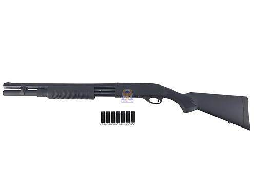 PPS M870 Extended Magazine Tube Version Gas Shotgun - BKLE with Dytac 7 Shells