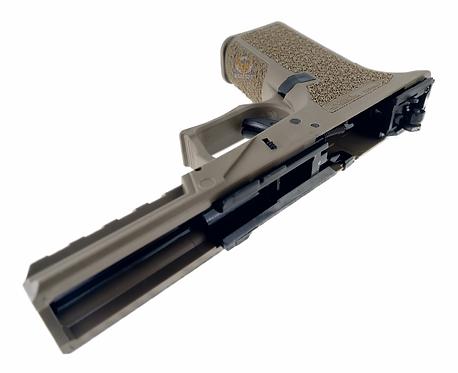 Flintlock Custom Workshop  P80 Frame With Internal Parts for Glock 17 TAN