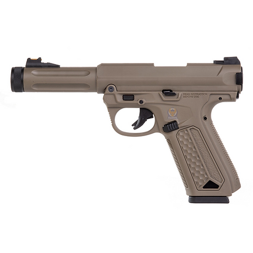 Action Army AAP-01 Semi Auto / Full Auto GBB Pistol DE