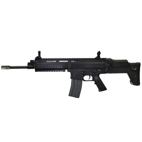 Classic Army SP103P BK Licensed ISSC MK22 Commando CQC Airsoft AEG Rifle Long