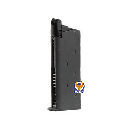 ARMY 1911 Gas Magazine For R45 Detontics GBB Pistol Black