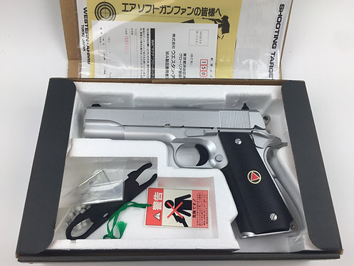 Western Arms Colt 10MM Delta Elite Silver Version