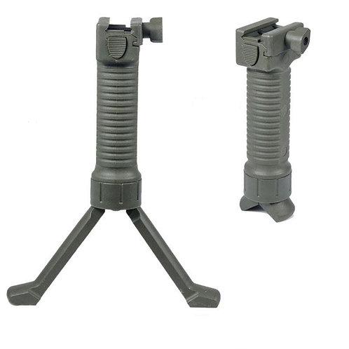 Flintlock Custom Workshop AR Quick Release Tactical Foregrip Bipod OD