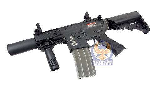 Ares CQC M4 AEG (Nylon Fiber+Al.Alloy Ver, Black)