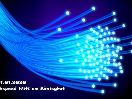 Freies Highspeed Internet für alle Bewohner*innen