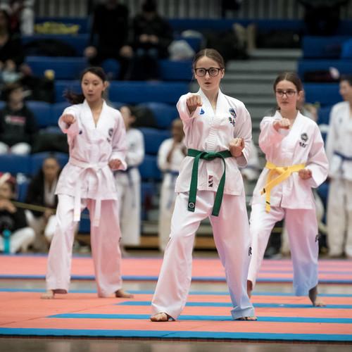 Coloured Belt Team Patterns