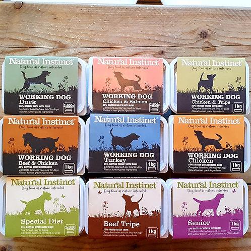 Natural Instinct Working Dog Food