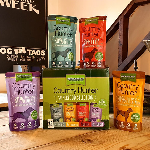 Natures Menu Country Hunter Pouches