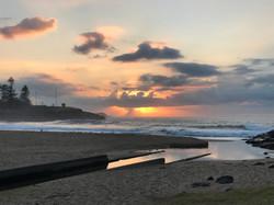 Surf Beach Kiama NSW Australia