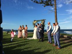 Headland Wedding