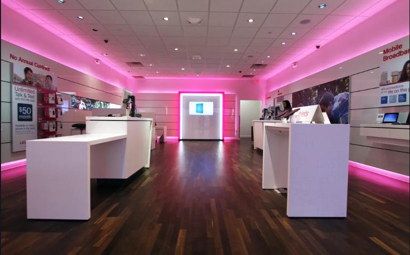 T-Mobile - Inside of Store