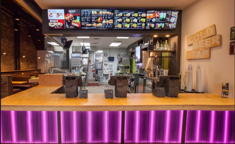 Taco Bell - Counter