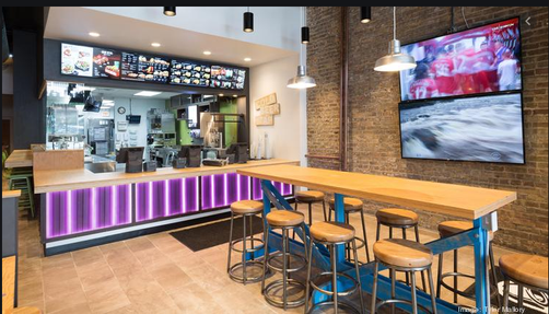 Taco Bell - Seating