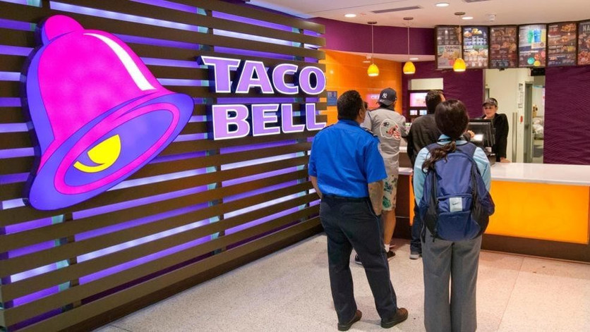 Taco Bell - Wall Sign