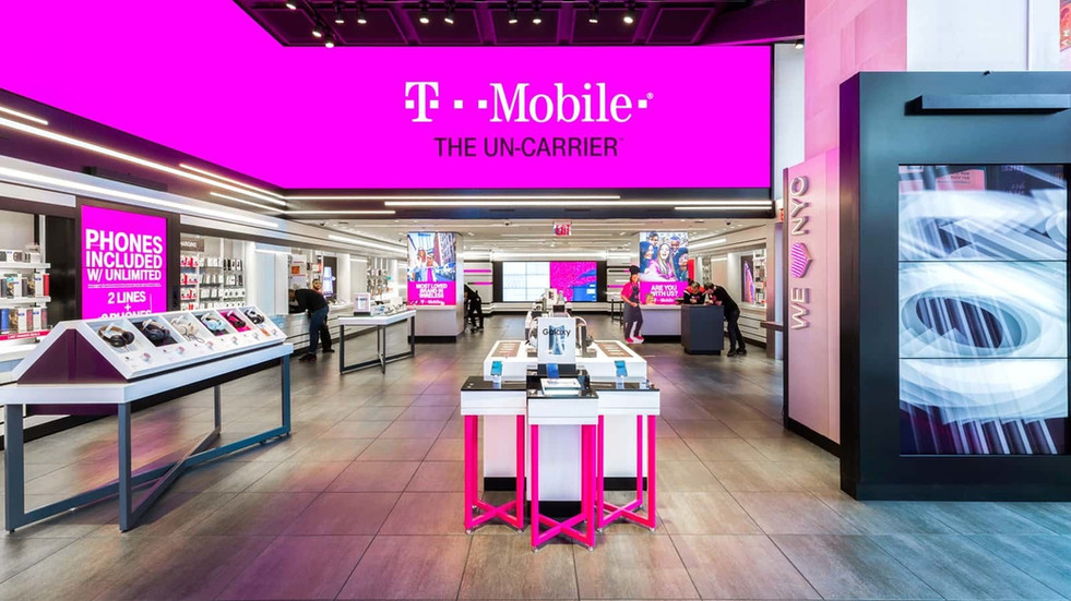T-Mobile - Outside of Store