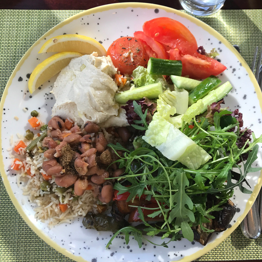 Delicious Middle Eastern feast