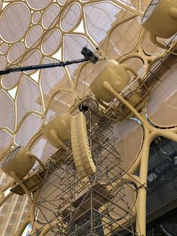 KIVA II installation