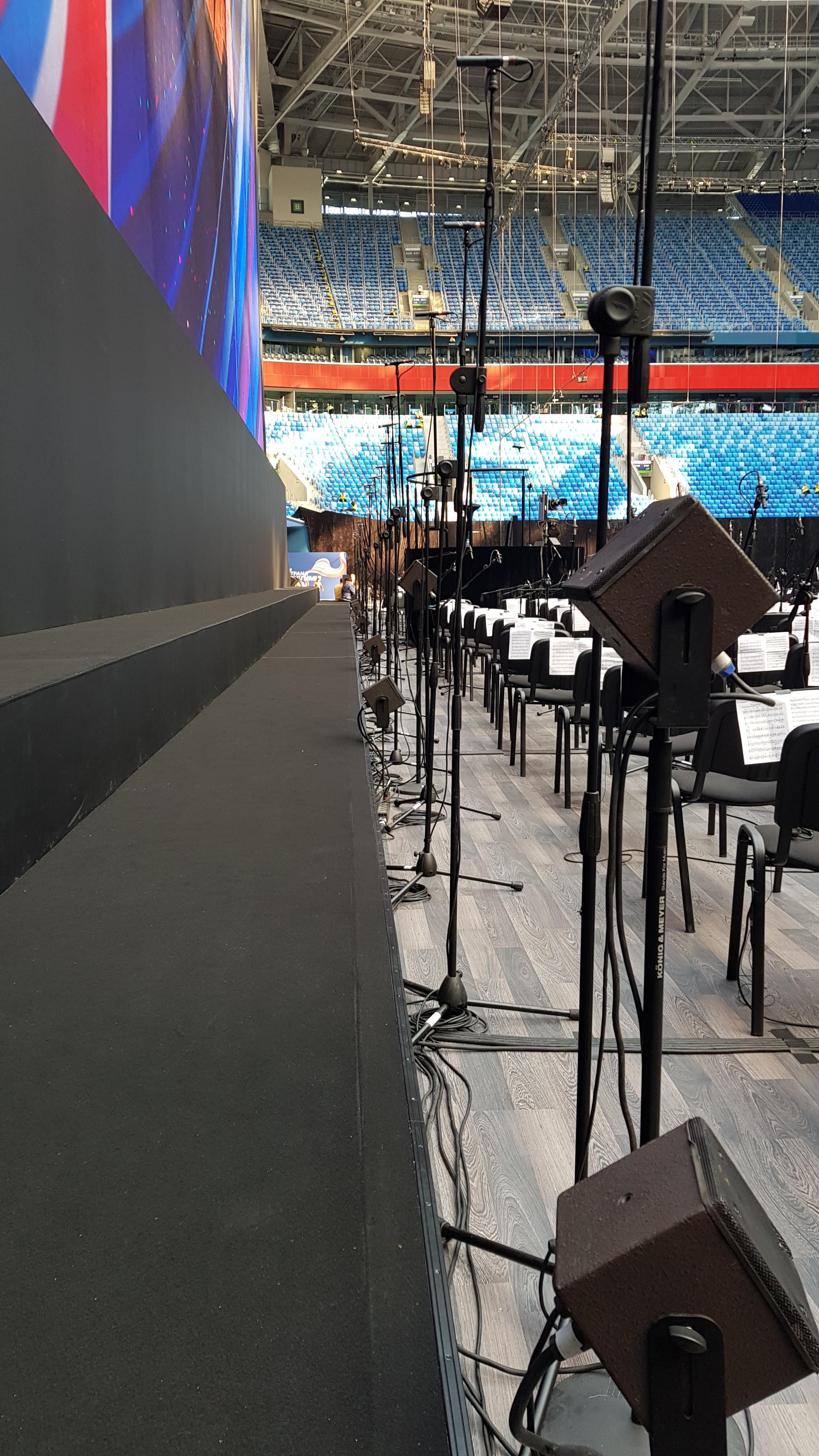 Choir monitors