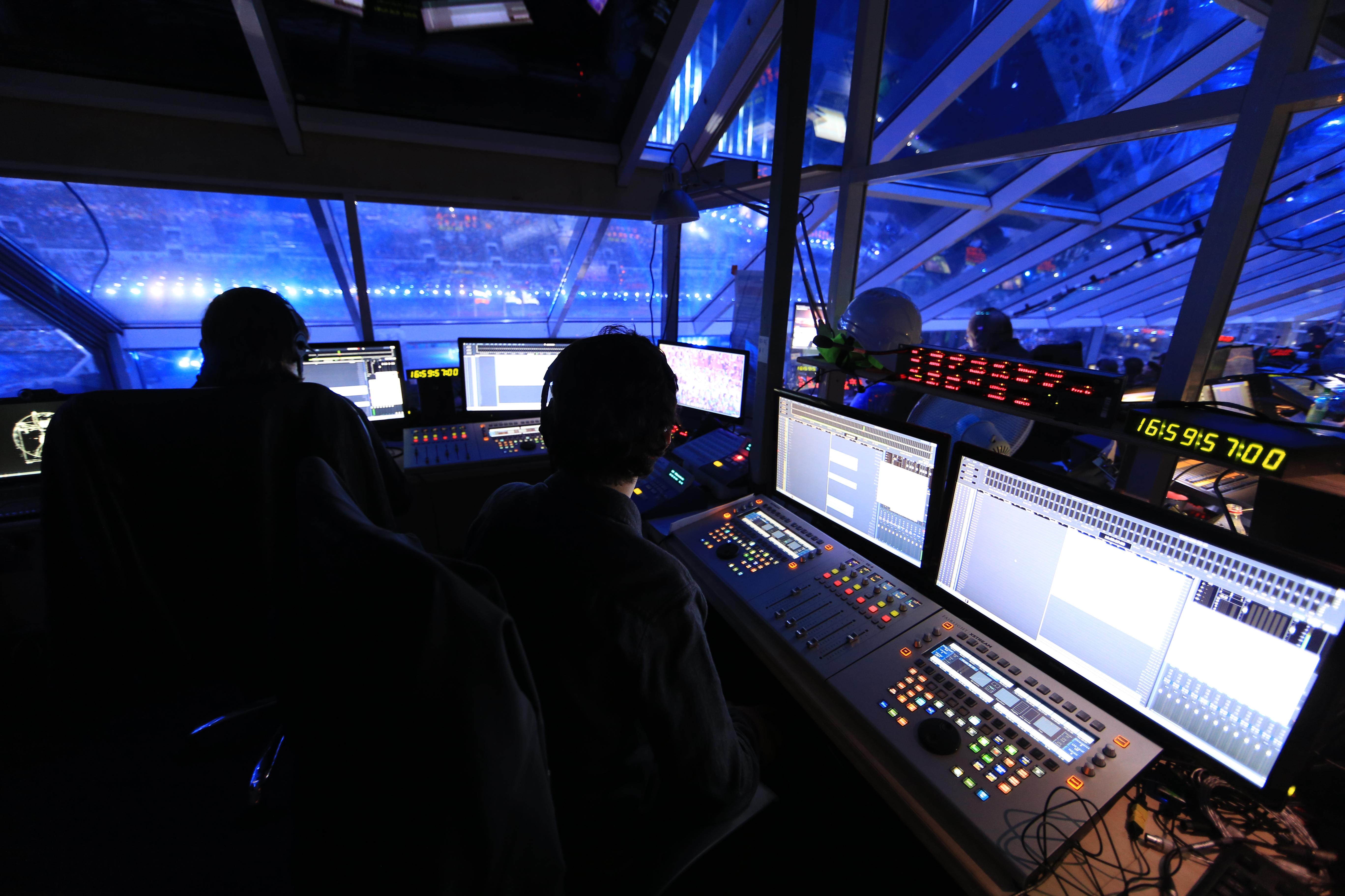 Sochi replay room