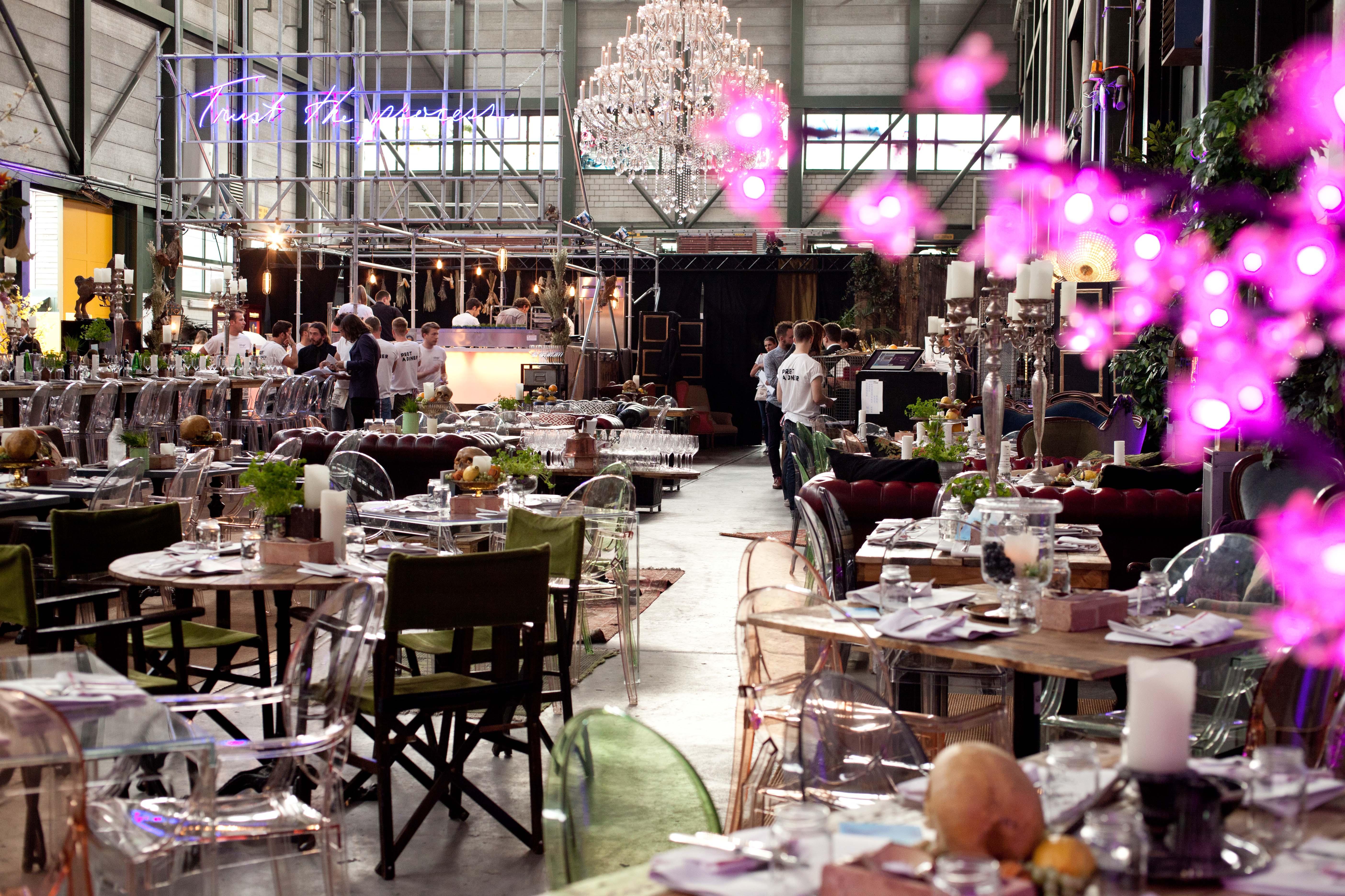 D Hub & Pret a Diner Zurich