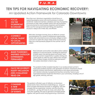 Ten Tips for Navigating Economic Recovery