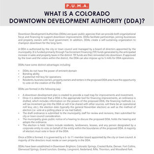 Colorado Downtown Development Authority
