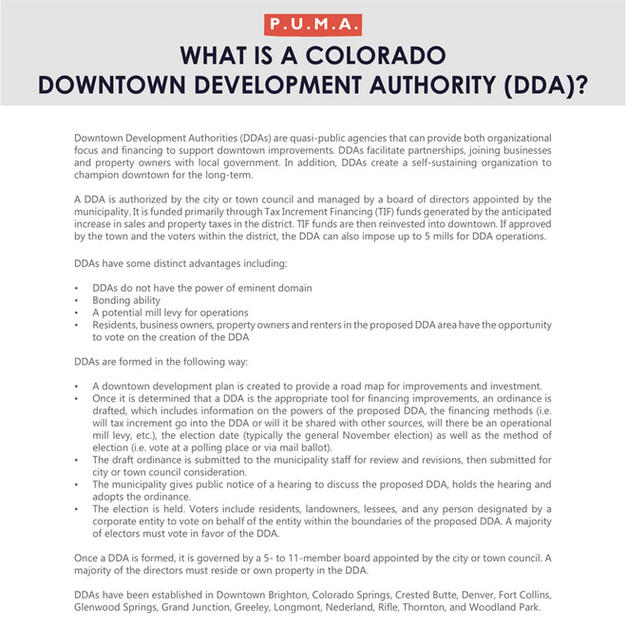 Colorado Downtown Development Authority