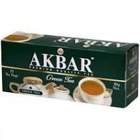 Чай Акбар зеленый 25пак с/я*2г*