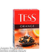 Чай Tess Orange black tea 100г