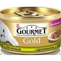 Gourmet Голд с кроликом 85г ж/б *