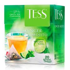 Чай Tess GINGER MOJITO зел. 20пак*1.8гр *