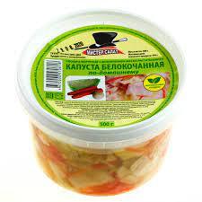 Капуста белокочанная по-домашнему  500г пэт/ведро Мистер салат