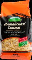 Хлопья пшенно-рисовые 400г Алтайская Сказка