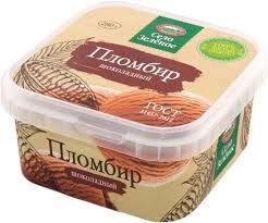СЗ Мороженое Пломбир шоколадный 15% 280гр конт.Милком