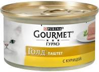 Gourmet Голд паштет с курица 85г ж/б