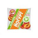 Йогурт с ароматом персика 2.5% бзмж 0.5л пл Нытва