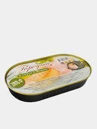 Горбуша  (филе) в горчичном соусе 185г Россия