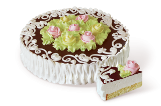 Сладкая фантазия с ароматом ванили 1000гр торт Розница +